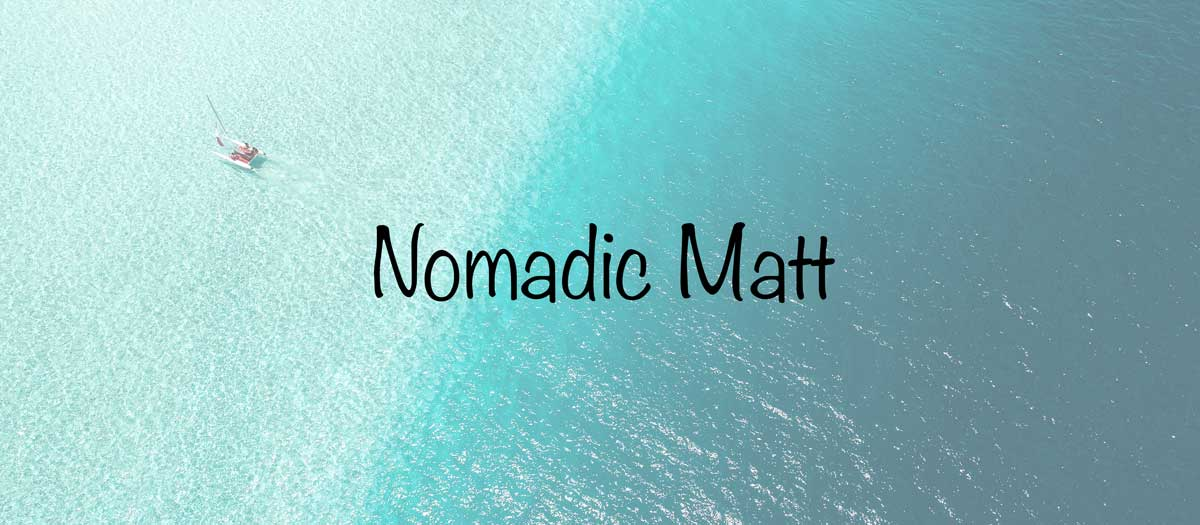 Travel blogs - Nomadic Matt