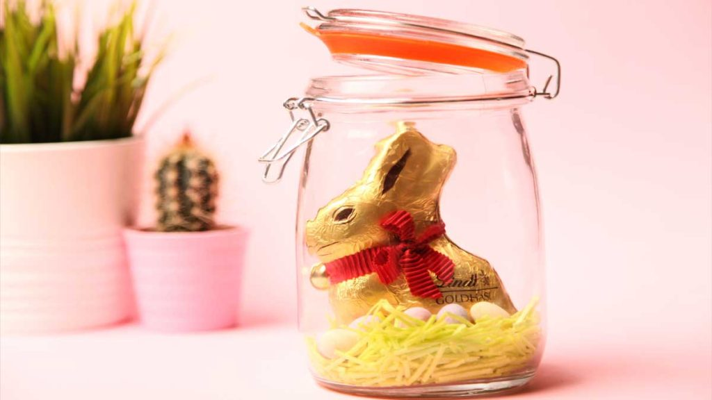 Easter diy crafts 4 last minute ideas bunny in a glass as easter diy negle Gallery