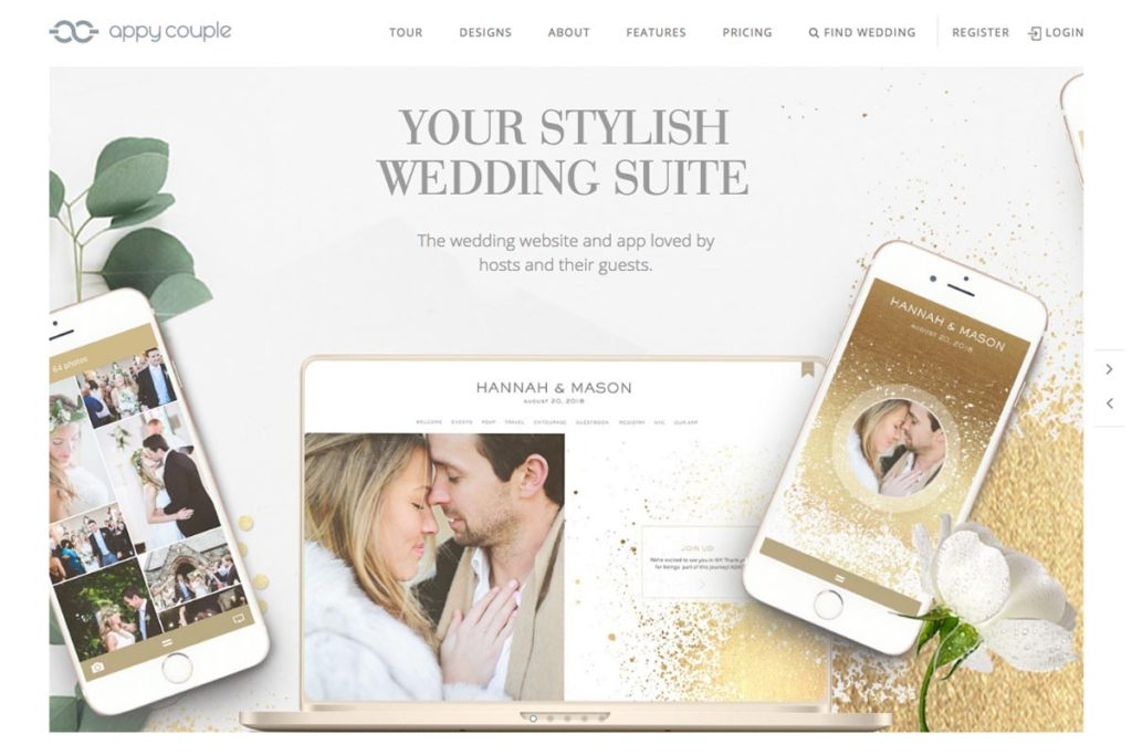 wedding website best