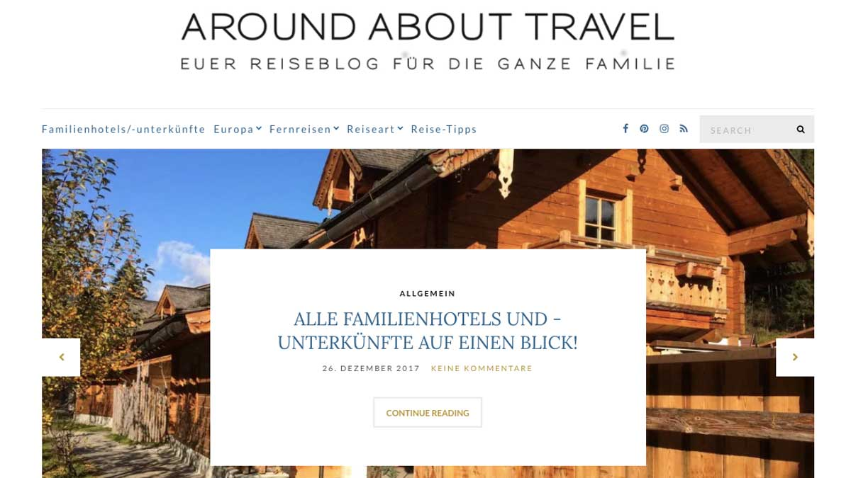 Around about Travel - Family Travel Blog Tipp 4