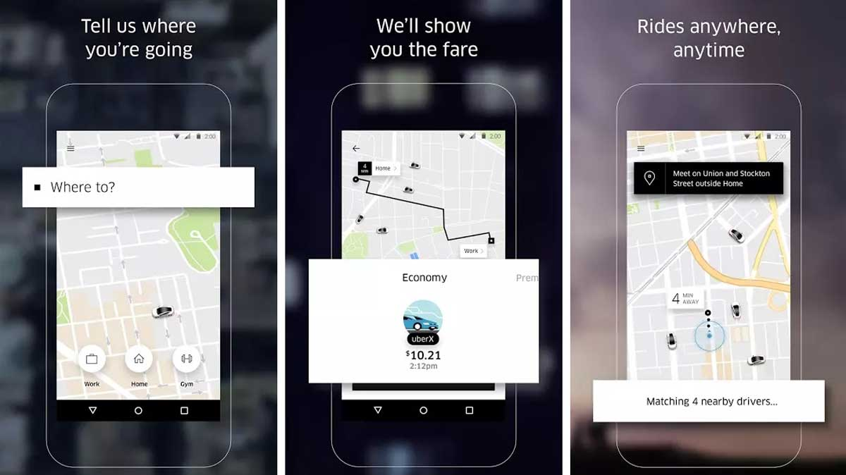 Uber as #9 of Holiday Apps