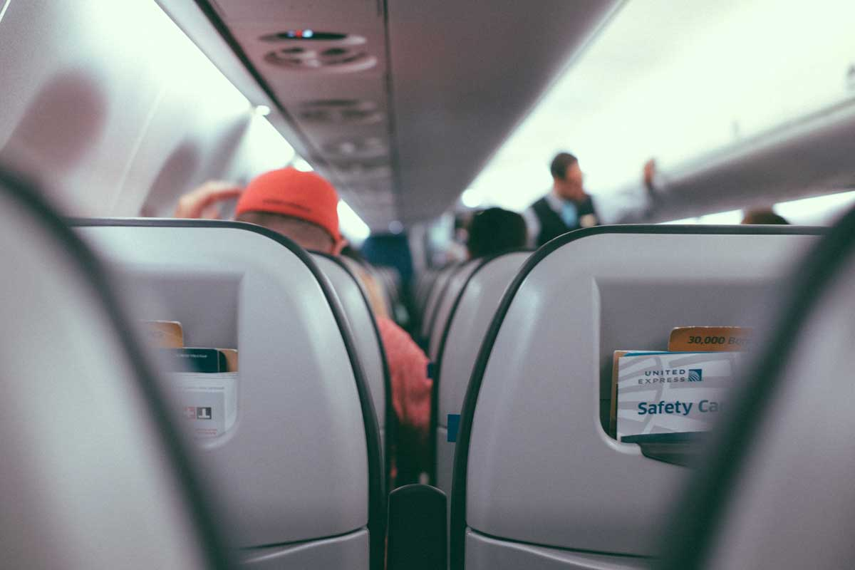5 Ways to Cope When You're Scared Of Flying - Familiarize with the plane
