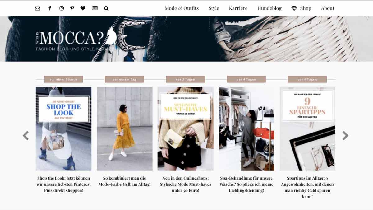 Top Lifestyle Blogger - Who Is Mocca