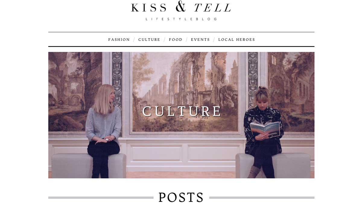 Top Lifestyle Blogger - Kiss & Tell