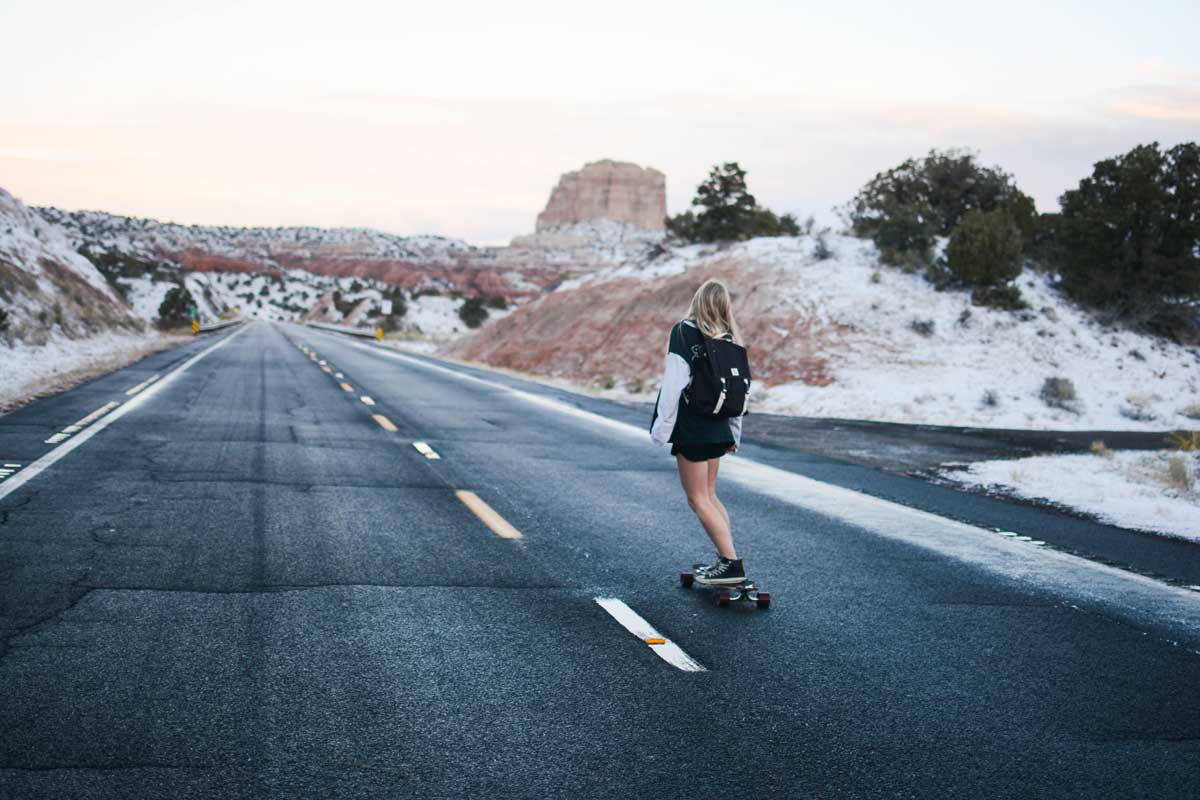 Travel Trends on Instagram - Pick Unusual Routes as solo female travelers