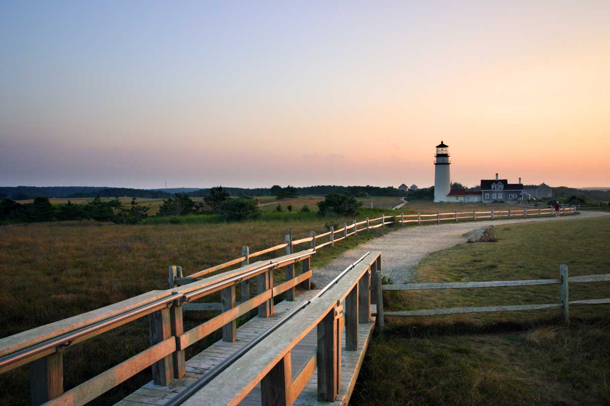 Cape Cod is a beautiful destinations for mother daughter trips