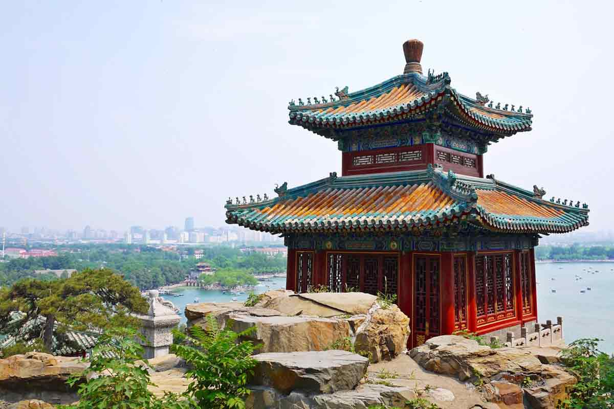 Summer in Asia can be awesome in Beijing in China