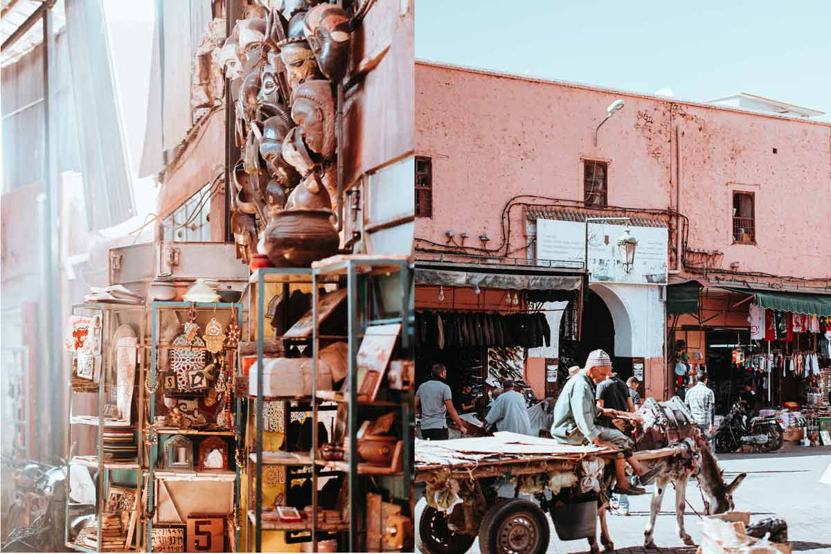 Medina and the souks are a reason to visit Marrakech