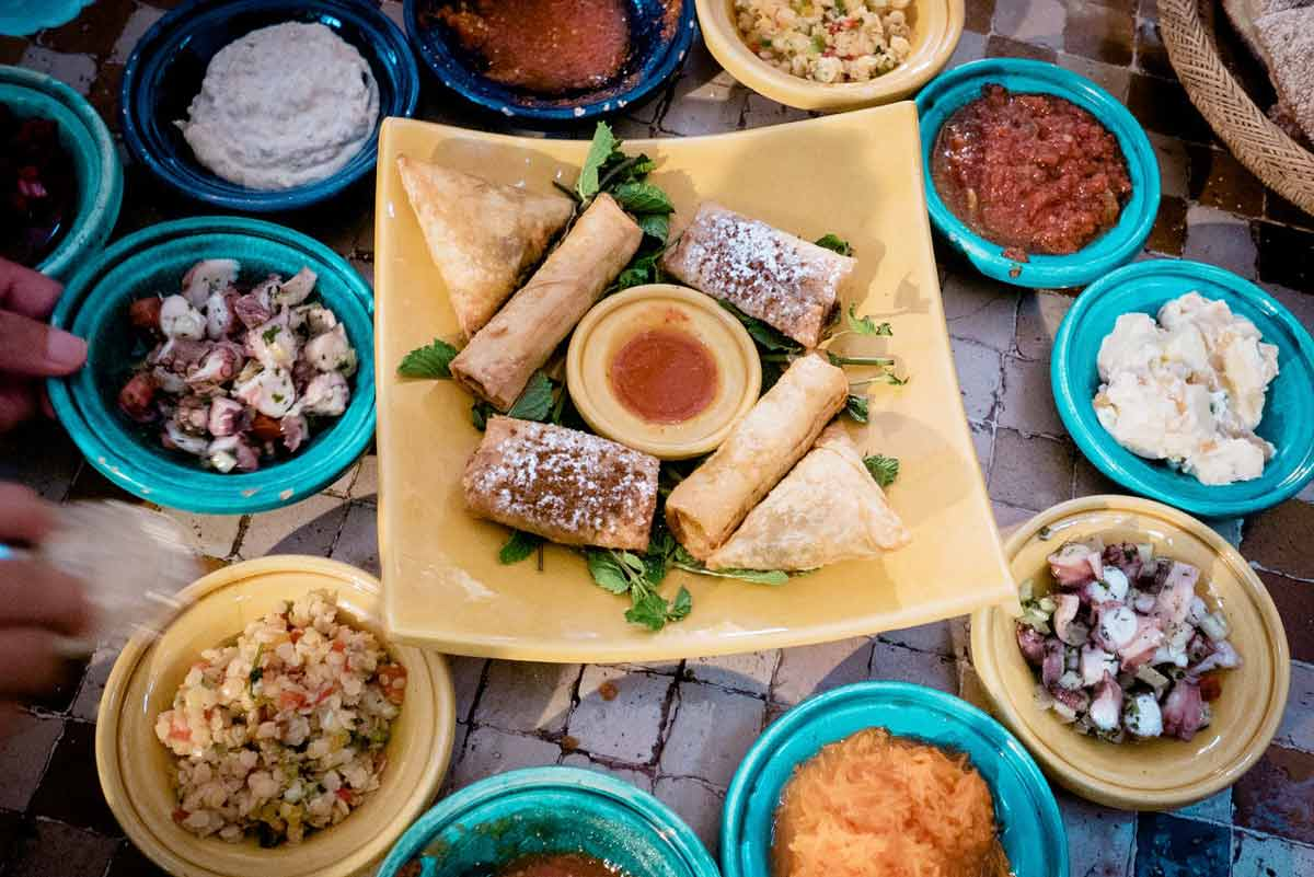 Tasting traditional food is one of many reasons to visit marrakech