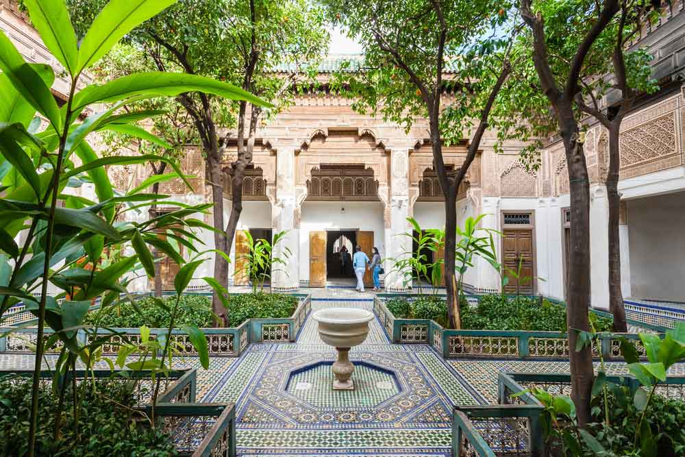 The riads are a nice reason to visit Marrakech