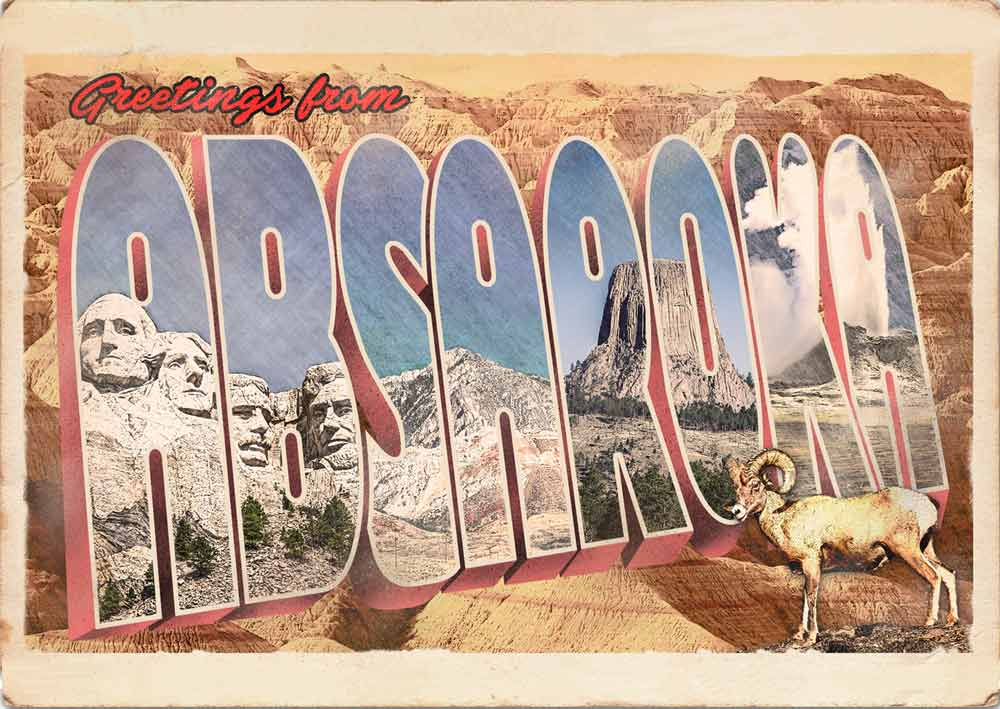 US States that might have been - Absaroka