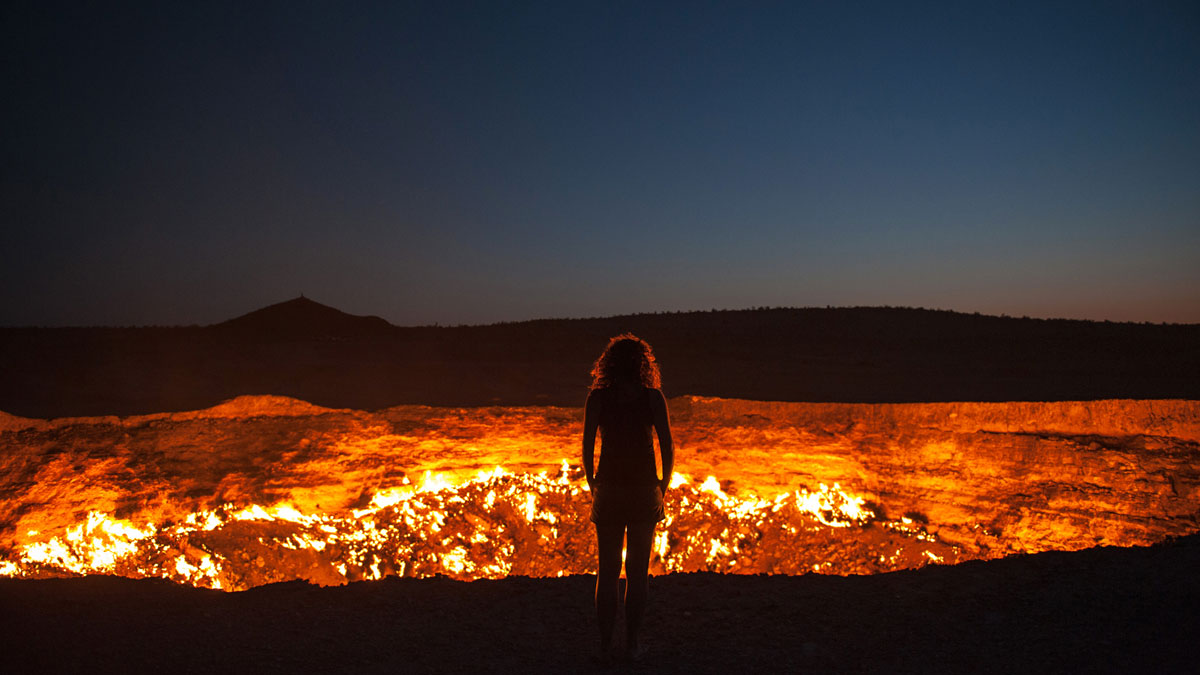 Coolest Places on earth - Gateway to Hell