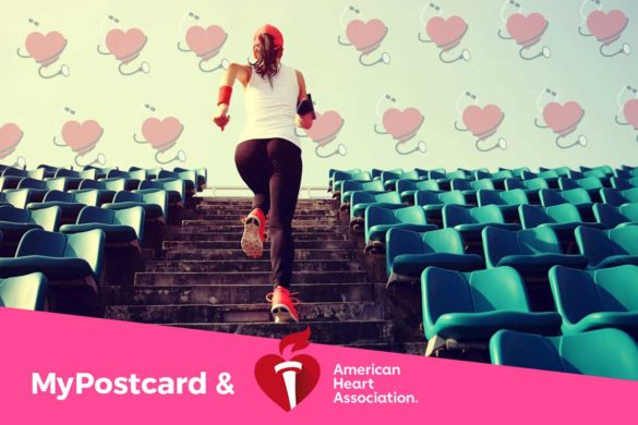 MyPostcard collaborates with AHA American Heart Association