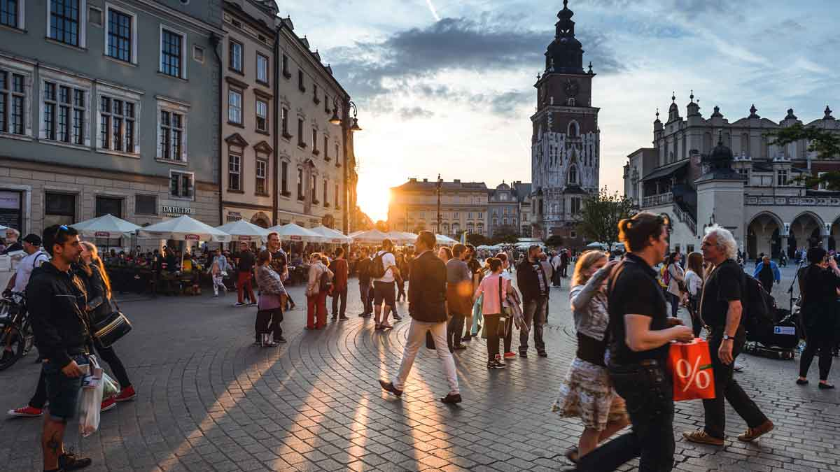 Cheap European holidays - 10 Places you have to see - Krakow