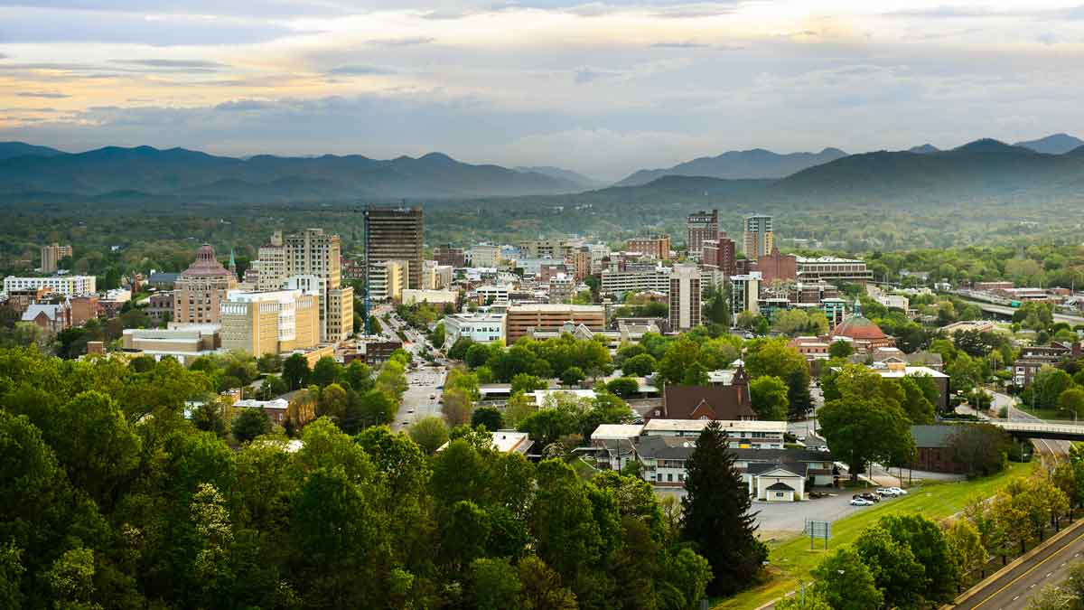 The coolest cities in the US - Asheville, North Carolina
