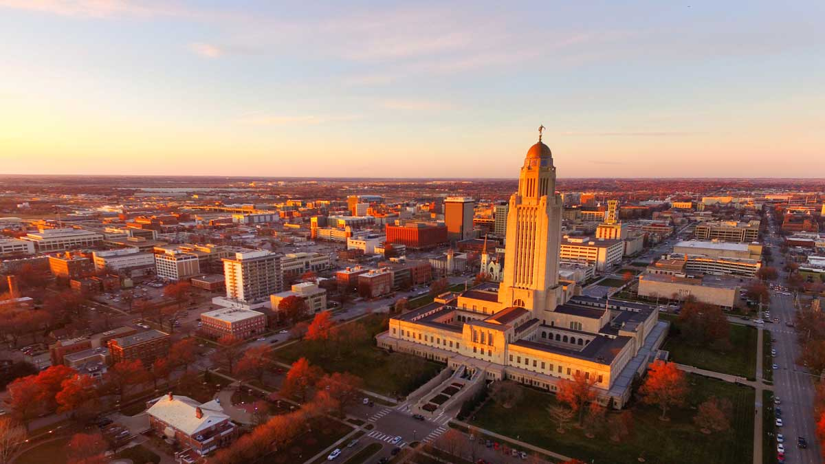 The coolest cities in the US - Lincoln, Nebraska