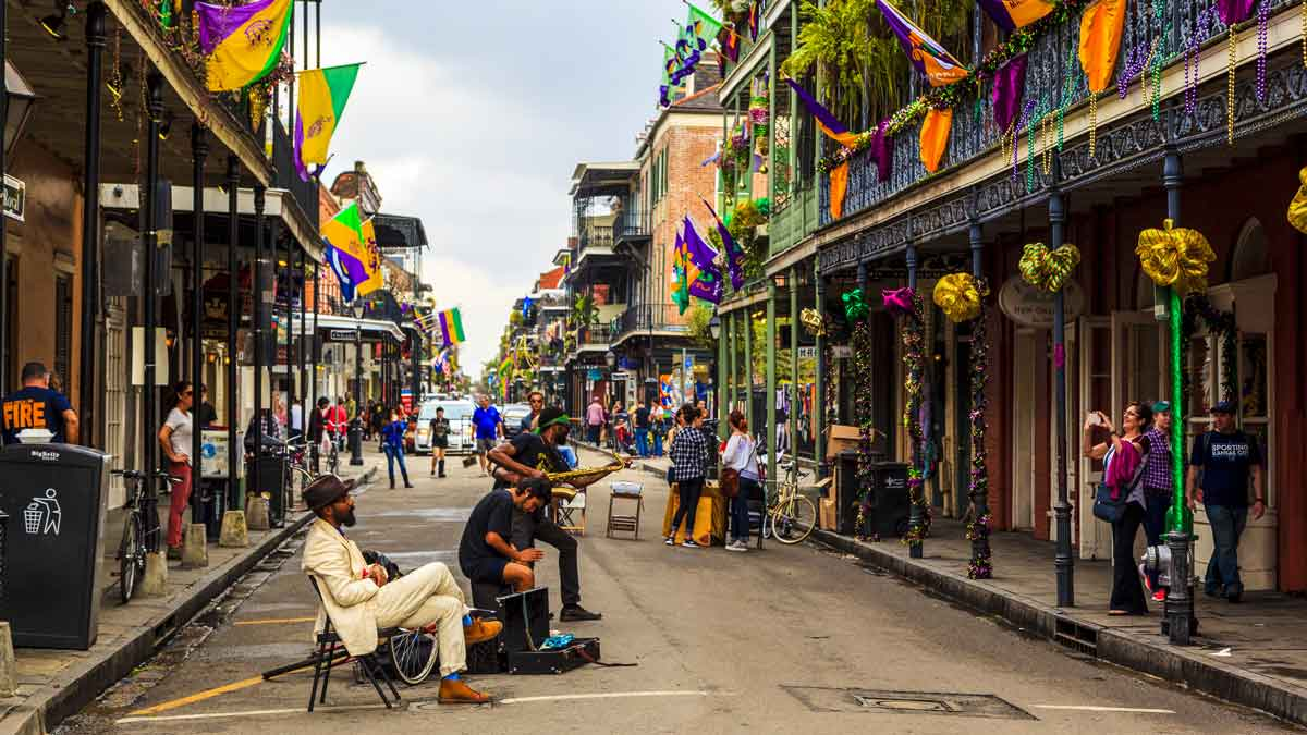 Coolest cities in the US - New Orleans, Louisiana