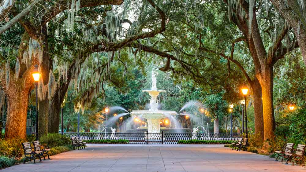 The coolest cities in the US - Savannah, Georgia