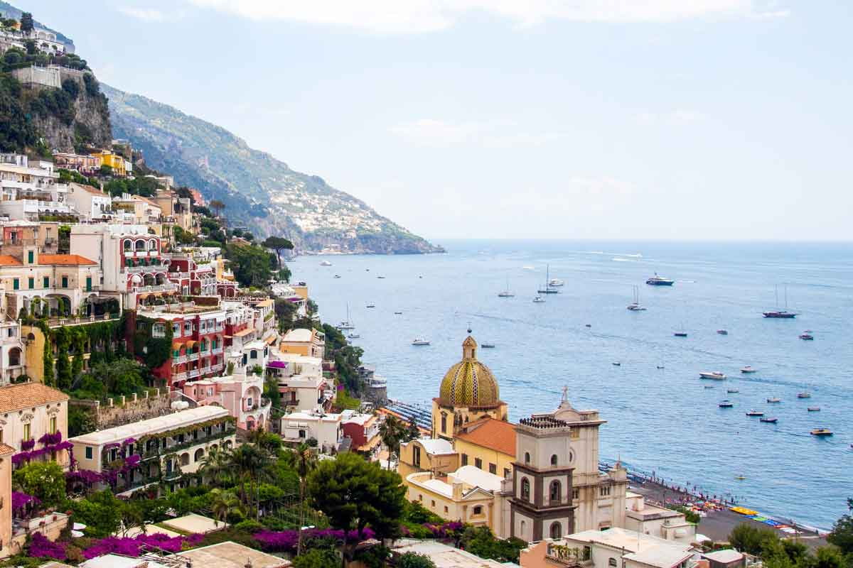 Positano at the Amalfi coast - Sightseeing