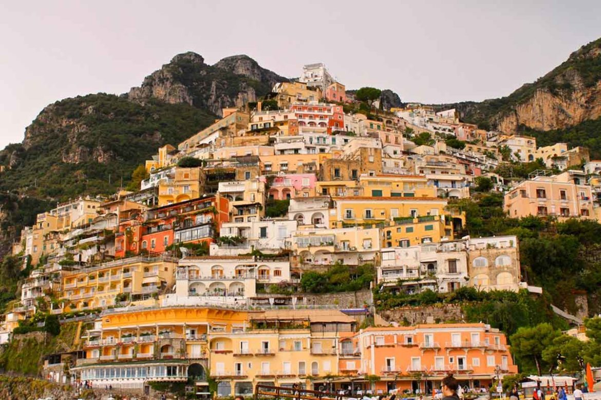 Positano at the Amalfi coast is the hotspot 2018