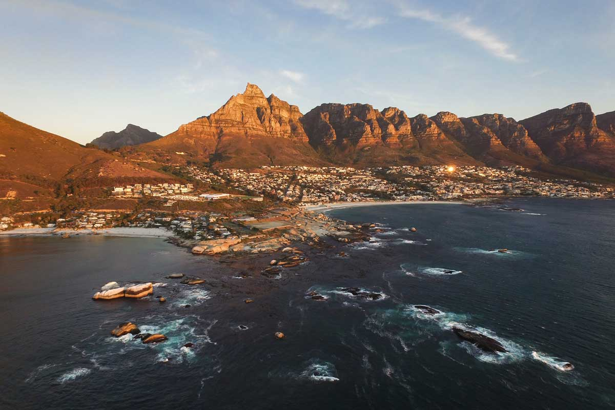 Most beautiful cities - Cape town, South Africa