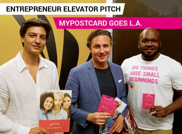 MyPostcard goes LA - Entrepreneur Elevator Pitch