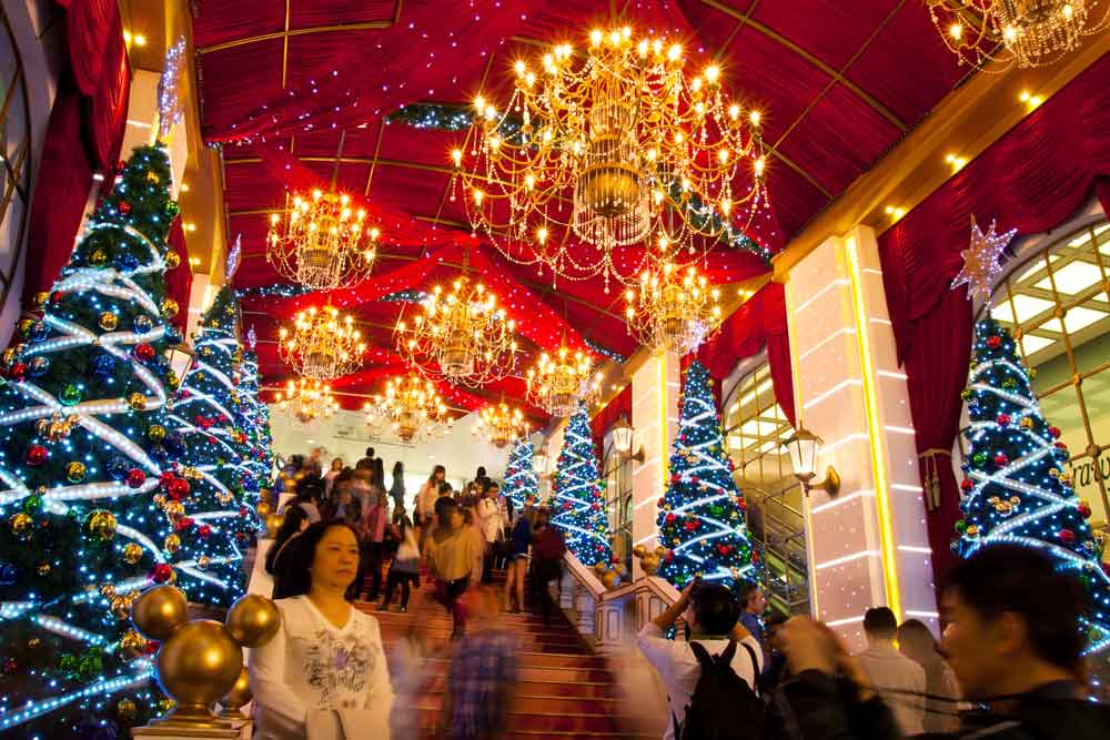 Craziest places to visit in december - Hong Kong in China