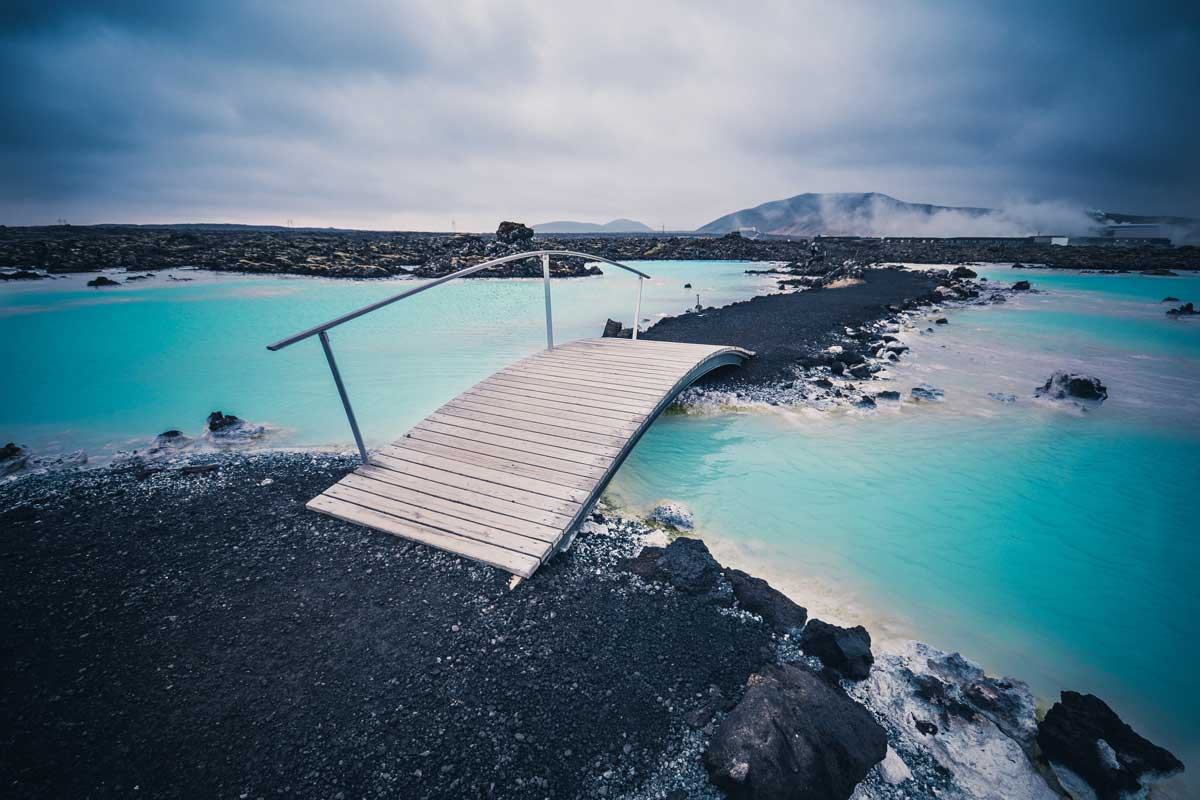 Craziest places to visit in december - Iceland