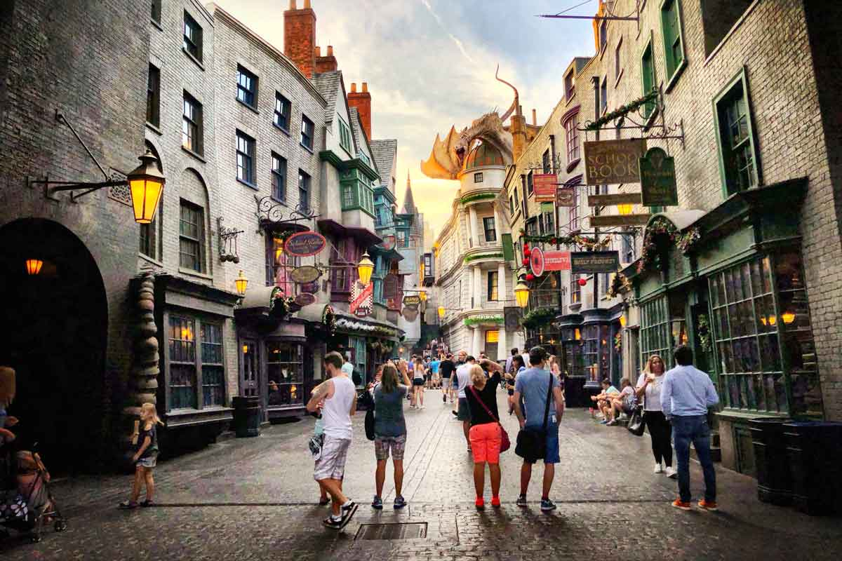 Craziest places to visit in december - Orlando, USA