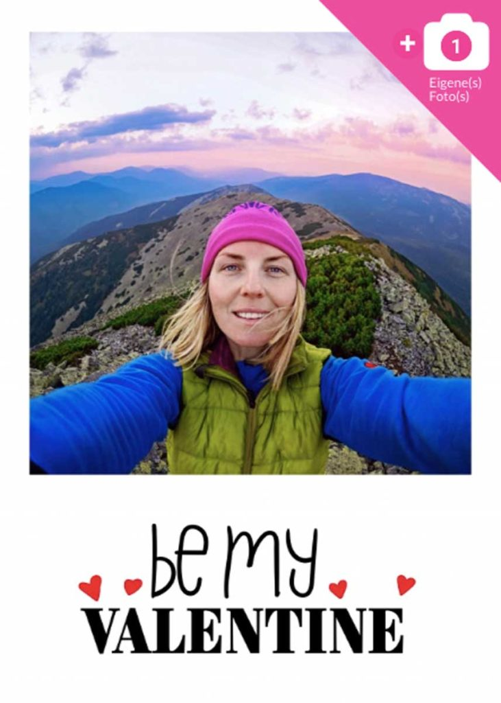 Valentine's Day Greetings - Be my Valentine Template