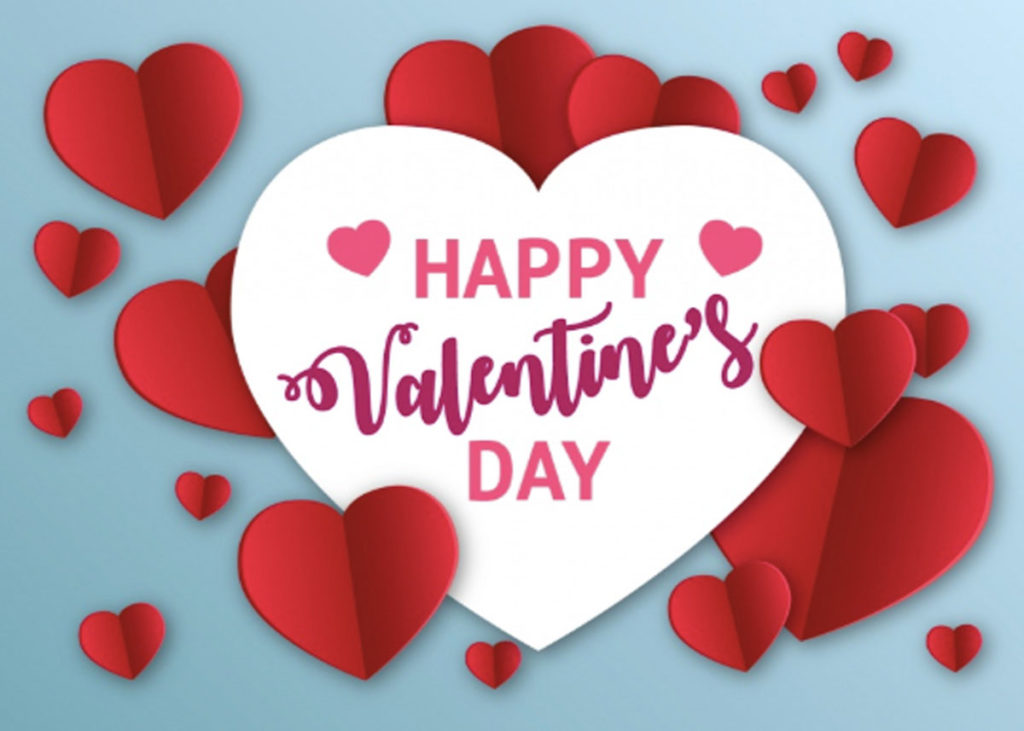 Valentine's Day Greetings - Say Happy Valentines Day