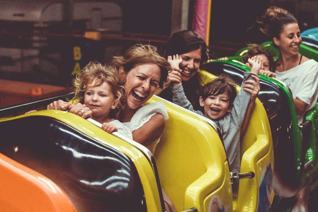 Places to travel with kids - Theme parks