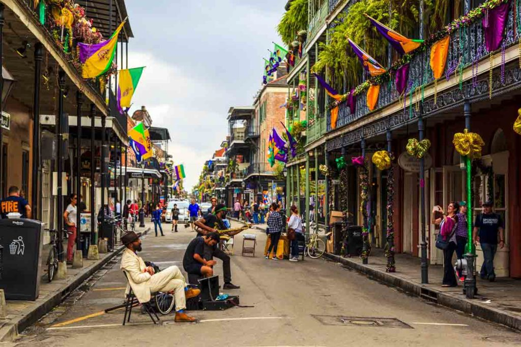 Easter getaway - New Orleans in Louisiana