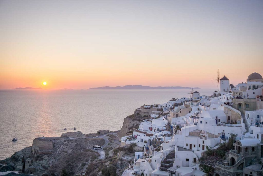 Easter getaway in Santorini, Greece - Watch the sunset