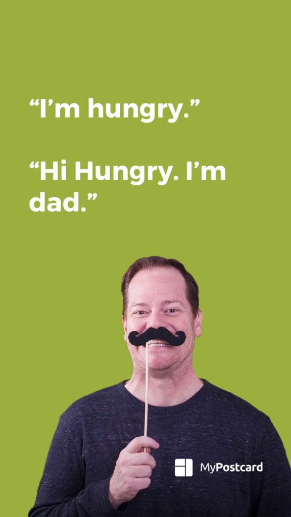 List of the best and funniest dad jokes - the hungry dad