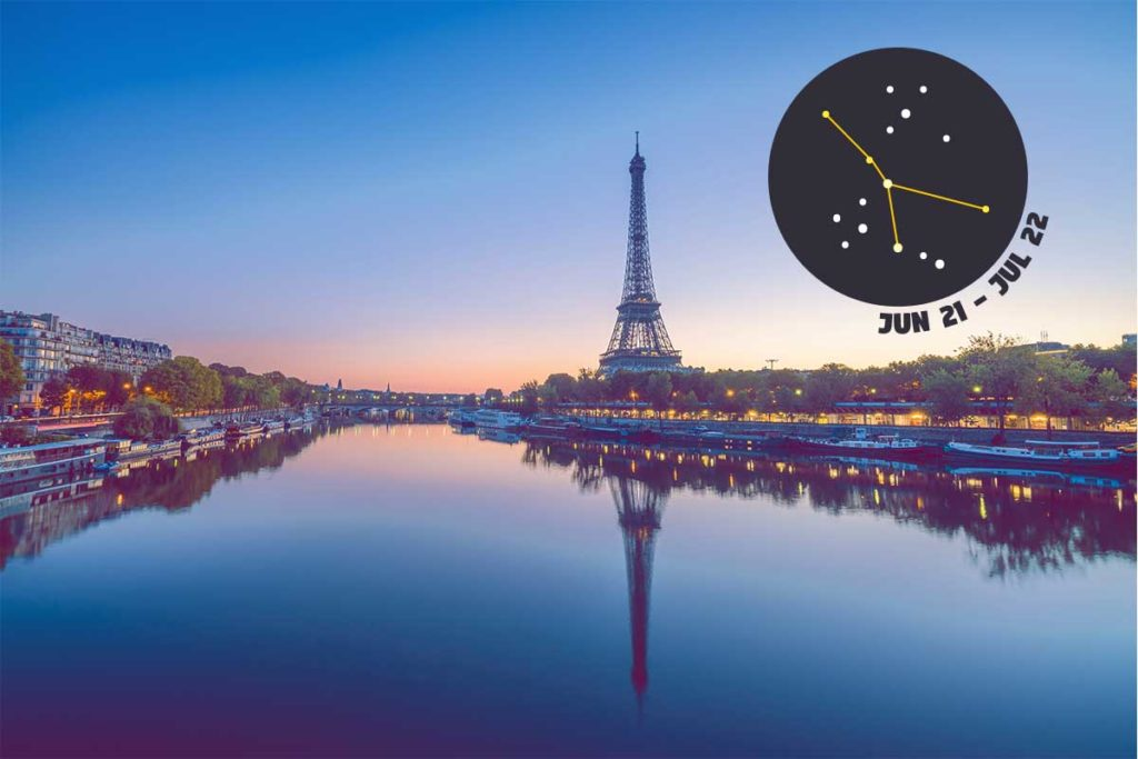 Cancer: Paris - Let your zodiac sign guide you