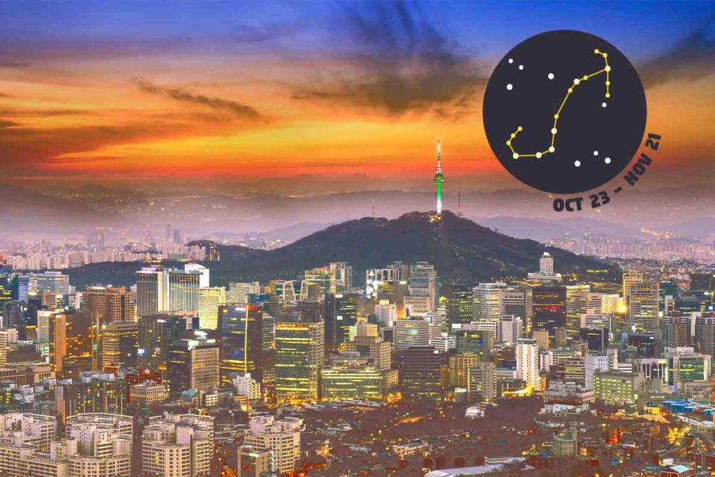 Scorpio: Seoul - Let your zodiac sign guide you