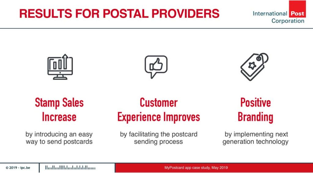 Benefits for Postal Providers