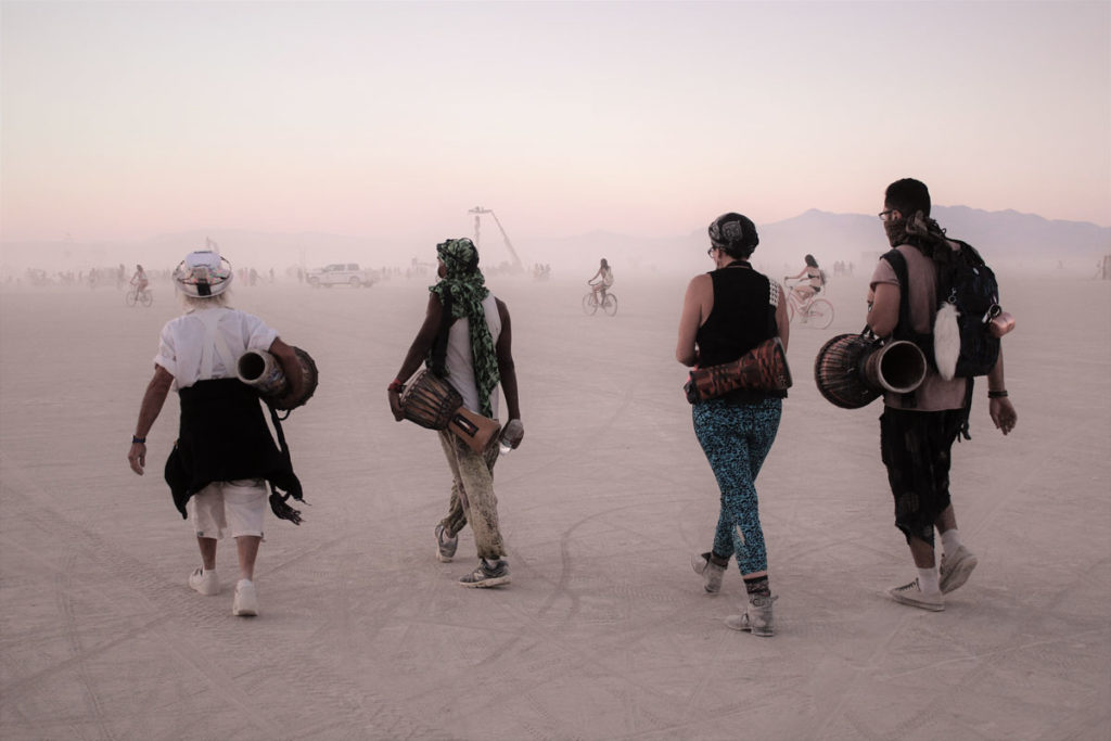 Burning man as one of the most famous cultural festivals