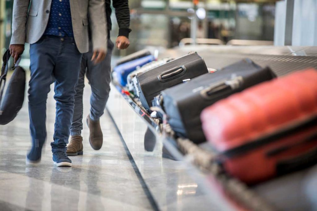 Lost luggage at the airport - tips