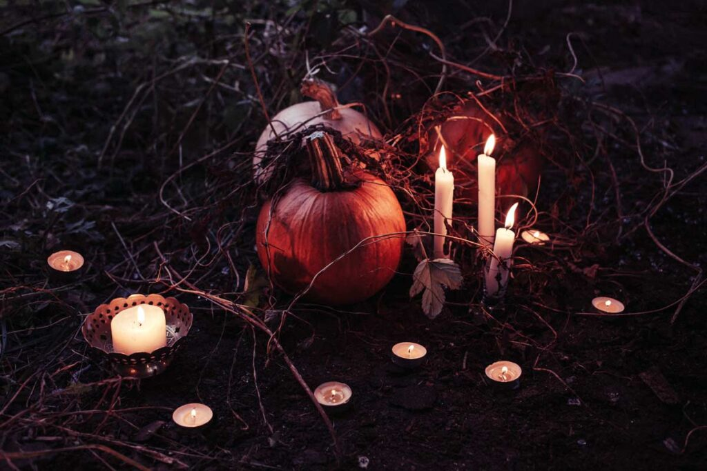 pumpkins are carved for Halloween around the world