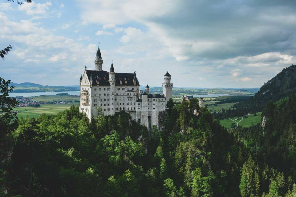 Neuschwanstein Castle in Germany as one of the top places to visit in 2020