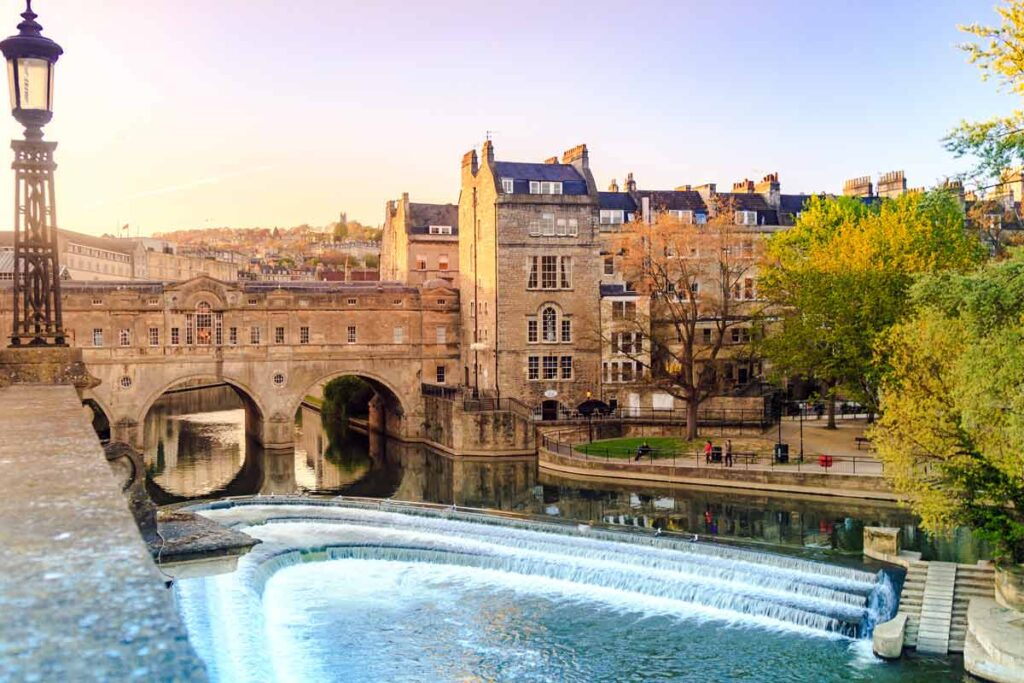 Bath's picturesque buildings are always worth a visit