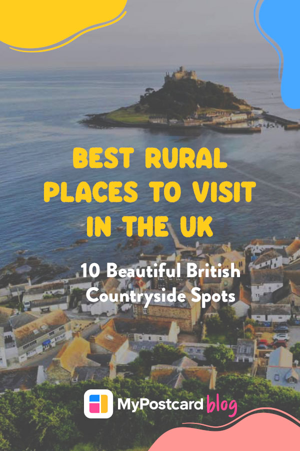 Pin for the best places to visit in the UK
