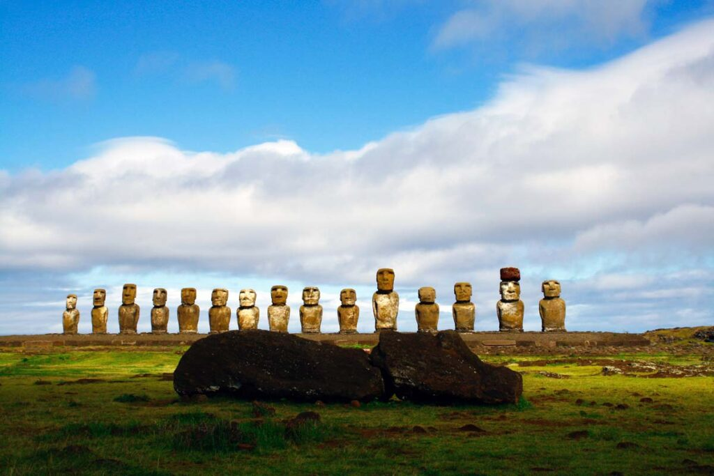 Easter Island is one of the top tourist attractions of Oceania