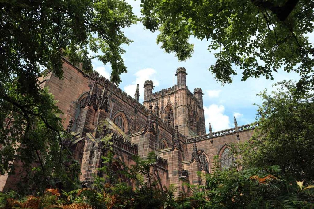 Chester is full of ancient buildings, making it a great but rural place to visit in Britain.