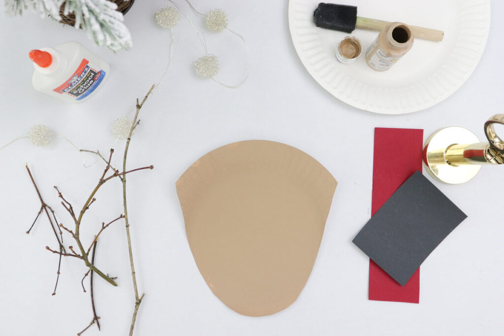 Step 2 of DIY bloggers' guide to making a Rudolph plate