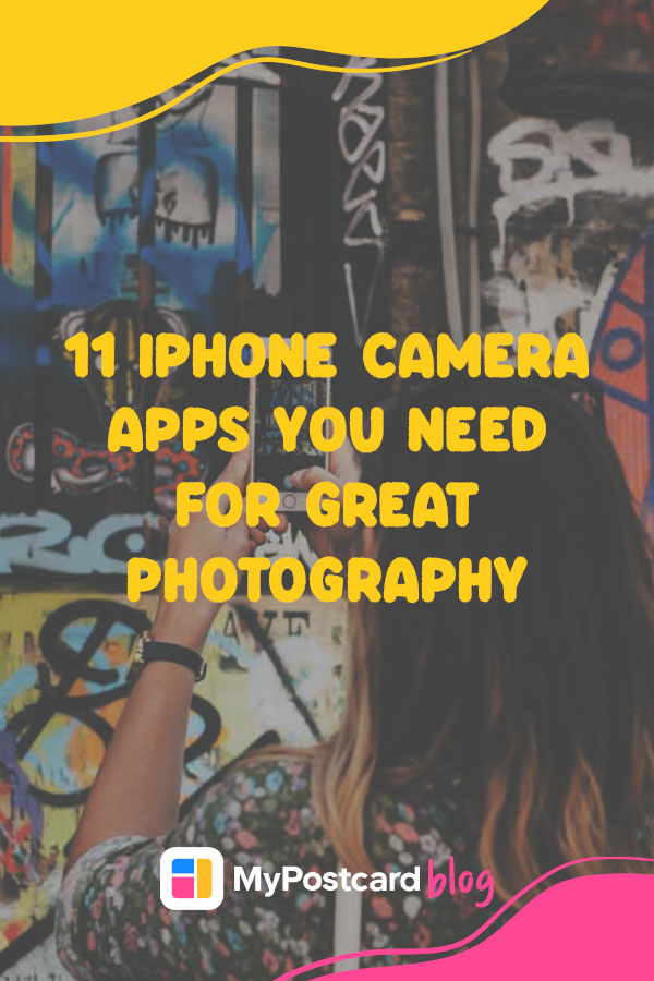 Iphone photography apps pin for Pinterest