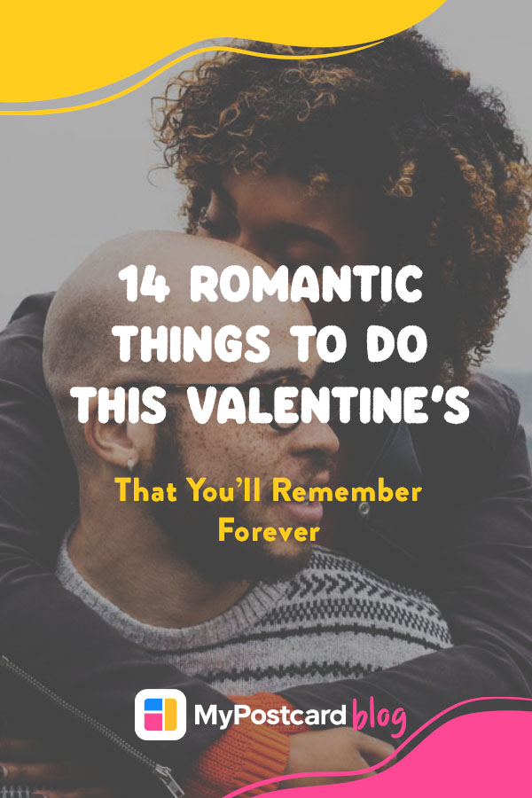 A Pinterest pin for romantic things to do this Valentine's Day