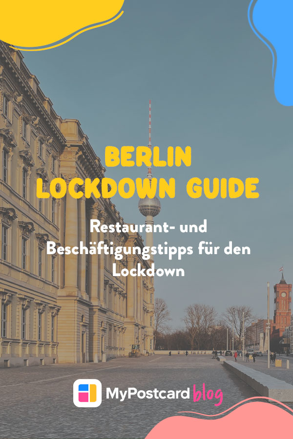 Berlin Lockdown Guide Pin